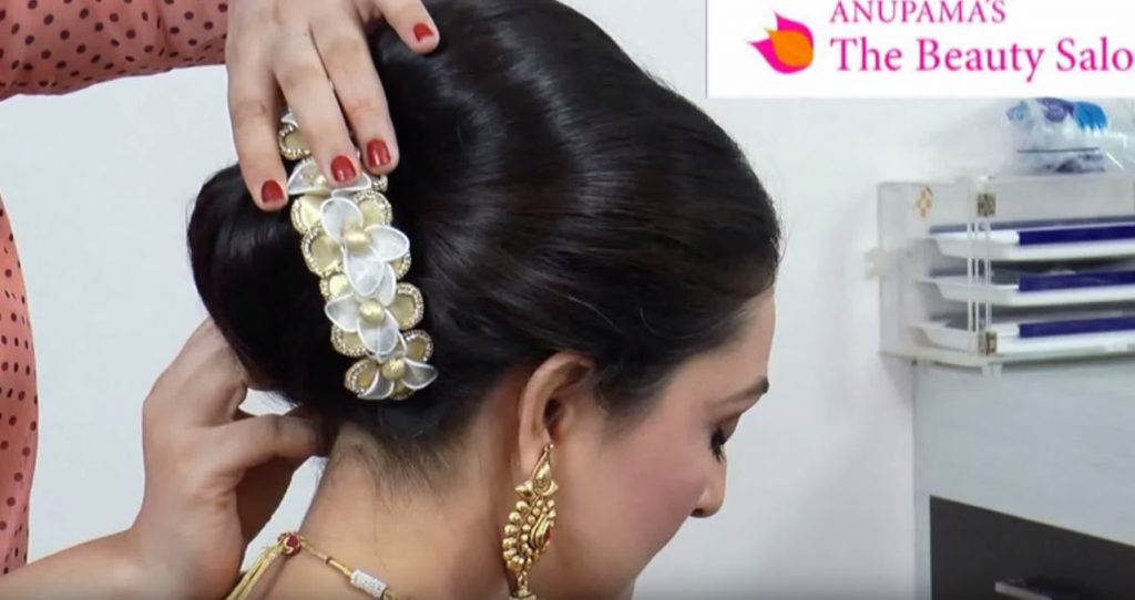 Indian-Asian-Bridal-Hairstyle-Tutorial